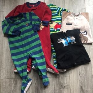 🌟Set of 5 Infant Sleepers 12-18 Months